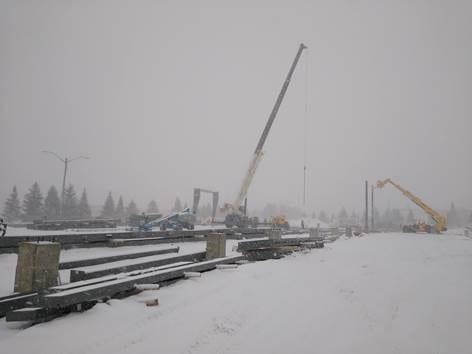 Boyne, Michigan supply and erect metal building
